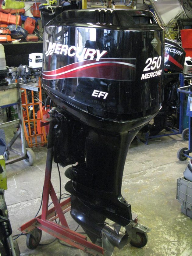 USED 2005 Mercury 250 HP XL shaft