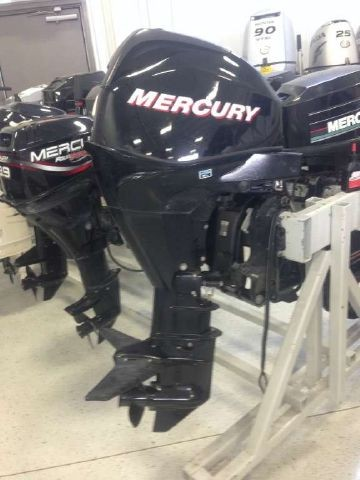 USED 2006 MERCURY 25 HP OUTBOARD MOTOR