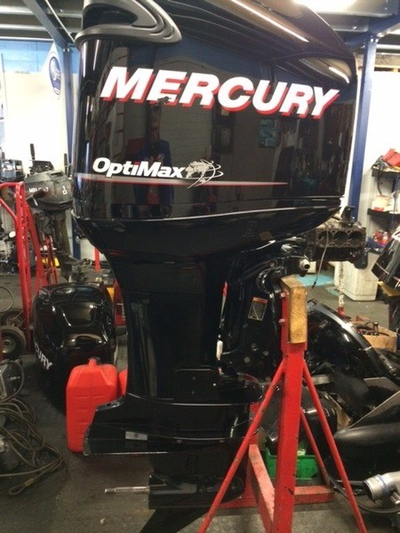 USED 2011 Mercury optimax 225 XL 25in Outboard Motor