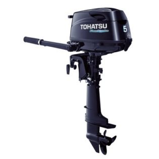 2015 Tohatsu 5 HP MFS5CL Outboard Motor
