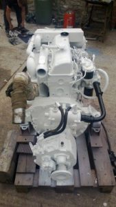 USED Ford Mermaid Melody 88hp Marine Diesel Engine & PRM Gearbox