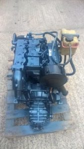 ? USED Lister LPW3 30hp Heat Exchanger Cooled Marine Engine