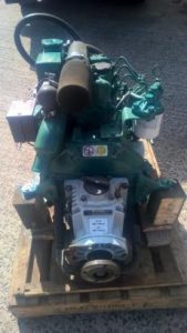USED Volvo Penta MD2020 19hp Marine Diesel Engine