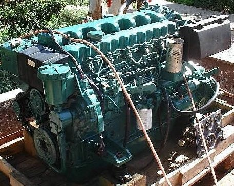 USED Volvo TMD40 140 HP & MS4A Gearbox