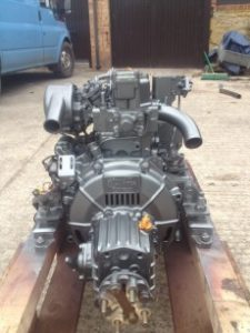 USED Yanmar 2GM20 16 HP Marine Diesel Engine