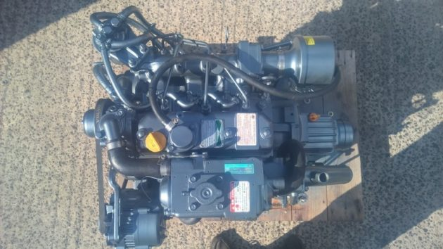 USED Yanmar 3JH3E 39 HP Marine Diesel Engine