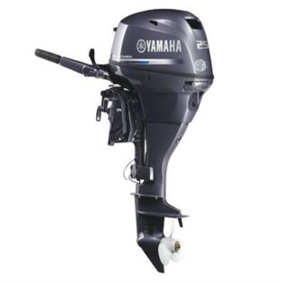 2018 Yamaha F25 Portable Mechanical ES/MS PT F25LWTC Outboard Motor