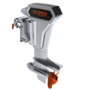 Torqeedo Cruise 10.0R Electric Outboard, Extra Long Shaft, Remote Steering