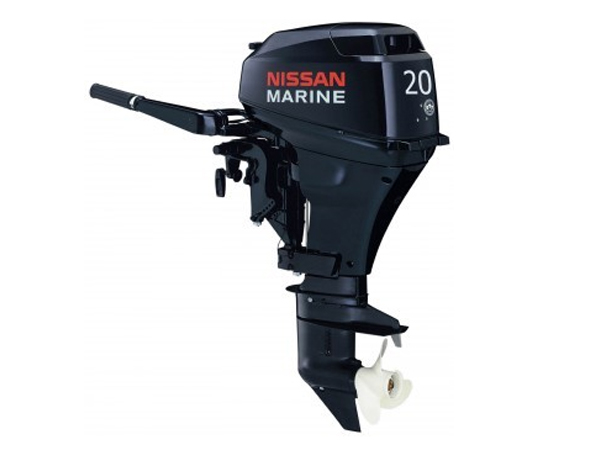 2015 Nissan 20 Hp NSF20CEF2 Outboard Motor