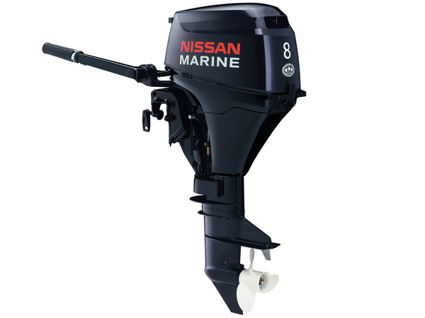 2015 Nissan 8 Hp NSF8A3EF2 Outboard Motor