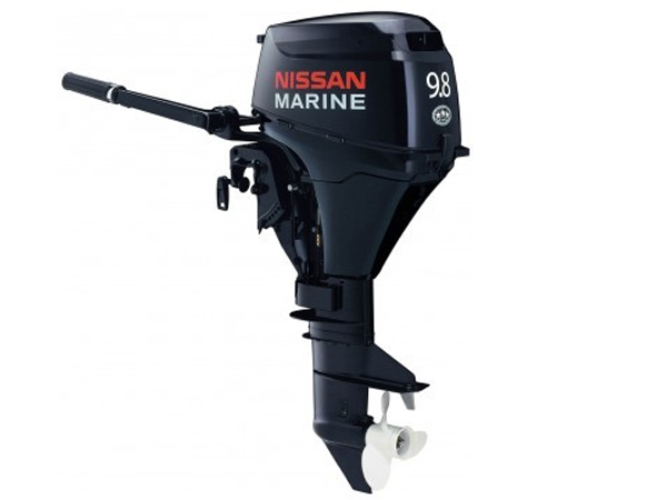2015 Nissan 9.8 Hp NSF9.8A31 Outboard Motor