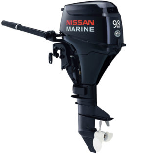2015 Nissan 9.8 Hp NSF9.8A32 Outboard Motor