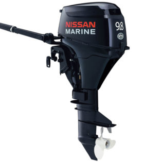 2015 Nissan 9.8 Hp NSF9.8A3EP2 Outboard Motor