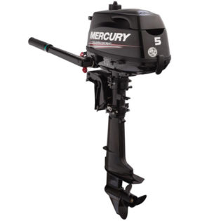 2019 Mercury 5 HP 5MLHA Sail Power Outboard Motor