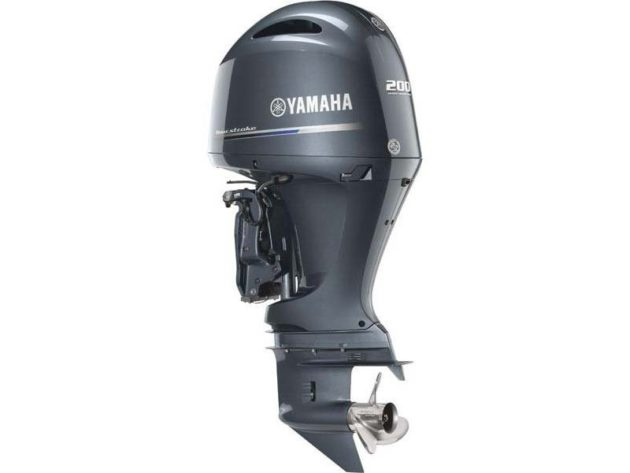 2016 Yamaha F200LB In-Line Four-Stroke Outboard Motor
